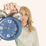 clock-woman